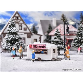Vollmer 47616 Sales booth mulled wine