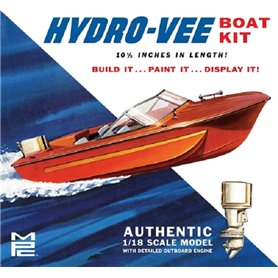 MPC 883 Hydro-Vee Boat with trailer