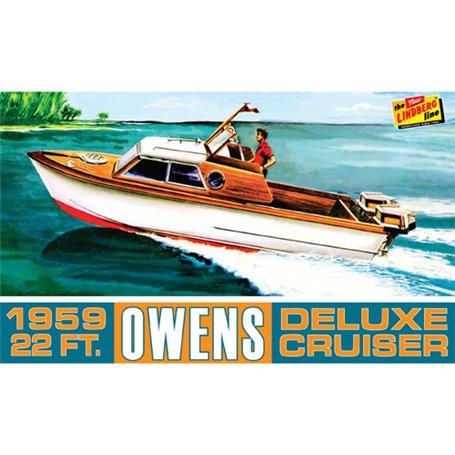 Lindberg 222 Owens Outboard Cruiser Boat