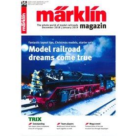 Märklin 298146 Märklin Magazin 6/2018 Engelska
