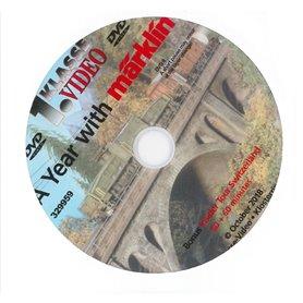 """Märklin 329959 DVD """"A Year With Märklin"""" """"Bonus Insider Tour Switzerland"""" 30 + 60 minuter"""