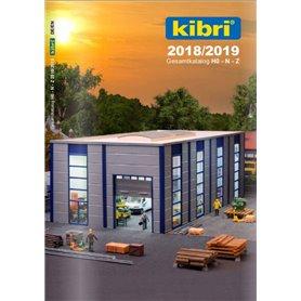 Media KAT483 Kibri Huvudkatalog Husbyggsatser/Fordon 2018/19