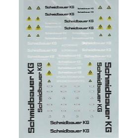 TL 3010 Dekalark, skyltar för kran och tungtransport