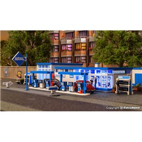 Kibri 38541 ARAL fuel station