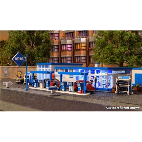 Kibri 38541 ARAL fuel station