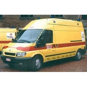"Rietze 51045 Ford Transit ""Ambulance Rode Kruis Vlandere"" (B)"