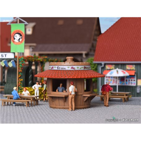 Kibri 38673 Sales booth beer and wine