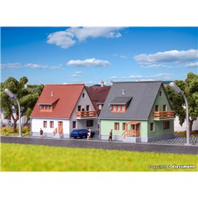 Kibri 36829 Settlement house Steinweg, 2 pieces