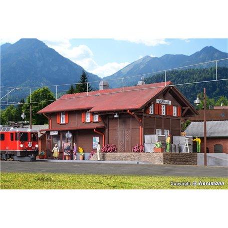 Kibri 39519 Station Surava incl. house illumination start-set, functional kit