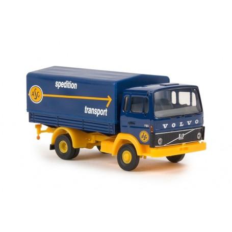 """Brekina 34754 Lastbil Volvo F613 med skåp """"ASG"""""""
