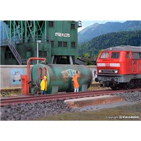 Kibri 39932 Diesel fuel station SchwarzBau