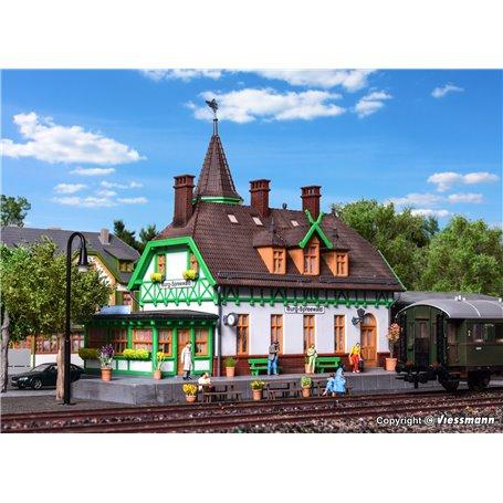 Kibri 39509 Station Burg Spreewald incl. house illumination start-set