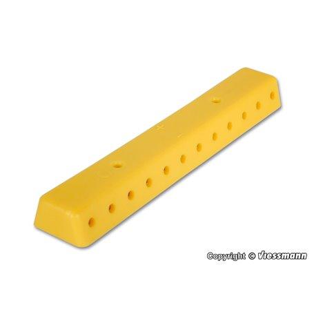 Viessmann 6842 Rail yellow, with screws, 2 pieces