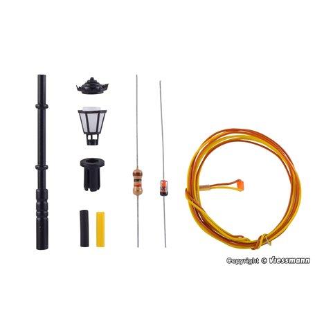 Viessmann 6920 Park lamp, kit, LED warm-white