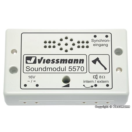 Viessmann 5570 Sound module wood chopper