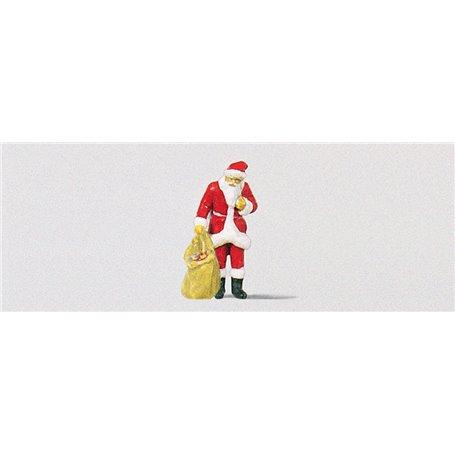 Preiser 29027 Jultomte med en säck full av julklappar, 1 st