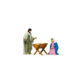 Preiser 29091 Maria och Josef med krubba