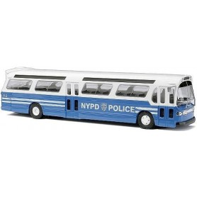 Busch 44551 US Bus Fishbowl ?New York City Police Dept.?
