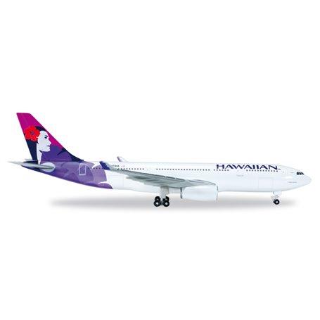 Herpa 519137-001 Flygplan Hawaiian Airlines Airbus A330-200