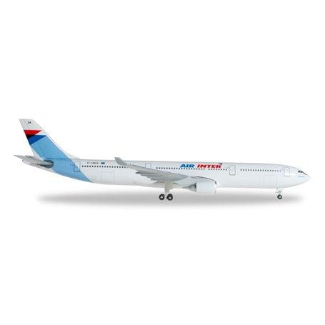 Herpa 526760 Flygplan Air Inter Airbus A330-300