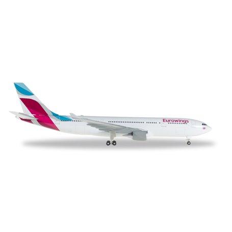 Herpa 528153-001 Flygplan Eurowings Airbus A330-200