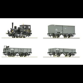 """Roco 61458 Tågset """"Kaiserzeit"""" typ kkStB"""