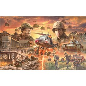 Italeri 6184 Operation Silver Bayonet - Vietnam War 1965 - BATTLE SET