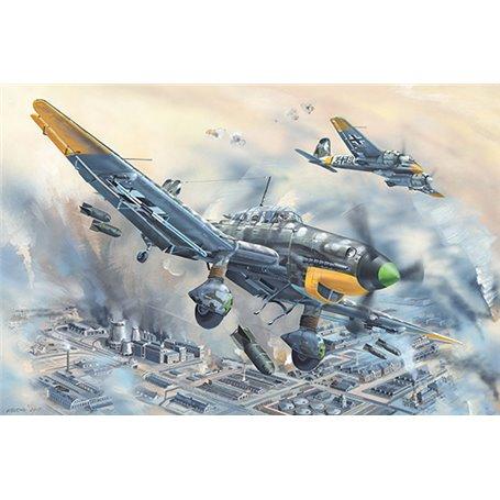 """Trumpeter 02424 Flygplan Junkers Ju-87D-5 """"Stuka"""""""