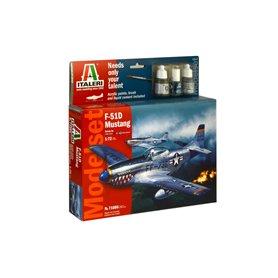 """Italeri 71086 Flygplan F-51D Mustang """"Gift Set"""""""