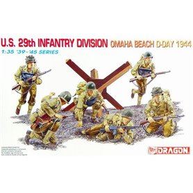 Dragon 6211 Figurer U.S. 29th Infantry Division Omaha Beach D-Day 1944