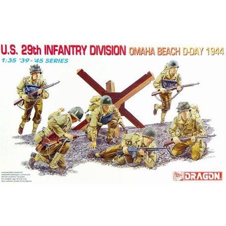 Dragon 6211 Figurer U.S. 29th Infantry Division Omaha Beach D-Day 1944