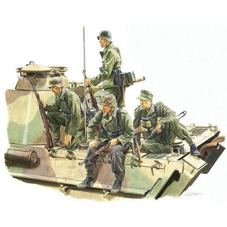 """Dragon 6156 Figurer Panzer Rider """"Lorraine 1944"""""""
