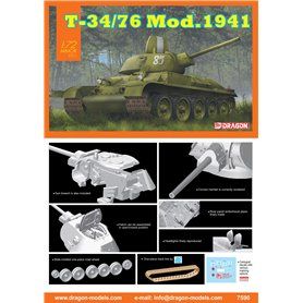 Dragon 7590 Tanks T-34/76 Mod.1941