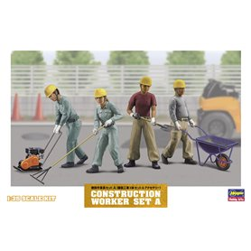 Hasegawa 66003 Construction Worker Set A