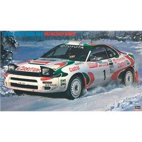 "Hasegawa 20358 Toyota Celica Turbo 4WD ""1993 RAC Rally Winner"""