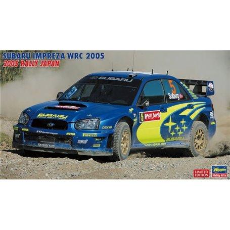 "Hasegawa 20353 Subaru Impreza WRC 2005 ""Rally Japan"" ""Petter Solberg"""