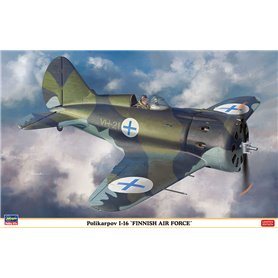 """Hasegawa 08254 Flygplan Polikarpov I-16 """"Finnish Air Force"""""""