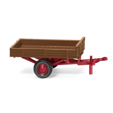 Wiking 87943 Allgaier single-axle trailer ? fawn