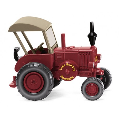 Wiking 88009 Lanz Bulldog with roof ? red
