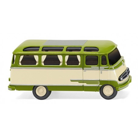 Wiking 26003 Panorama bus (MB O 319) – beige|green