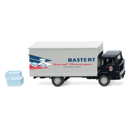 Wiking 42501 Box truck (Magirus 100 D7) 'Bastert'
