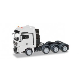 Herpa 304375-003 MAN TGX XXL 640 E6 heavy duty rigid tractor, white
