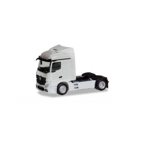 Herpa 309882 Mercedes-Benz Actros Streamspace 2.3 trailer 2-axle, white