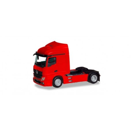 Herpa 309899 Mercedes-Benz Actros Streamspace 2.3 trailer 2-axle, red