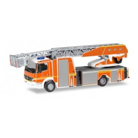 Herpa 094337 Mercedes-Benz Atego Rosenbauer turnable ladder 'Fire Department Ingolstadt'
