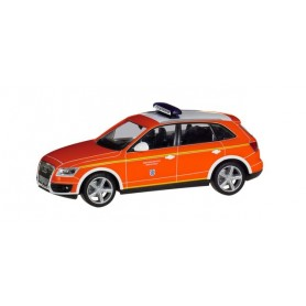 Herpa 094344 Audi Q5 commando vehicle 'fire Department Ingolstadt'