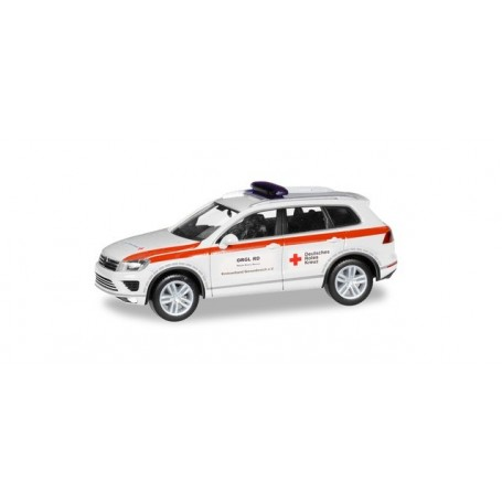 Herpa 094351 VW Touareg 'German Red Cross Grevenbroichi'
