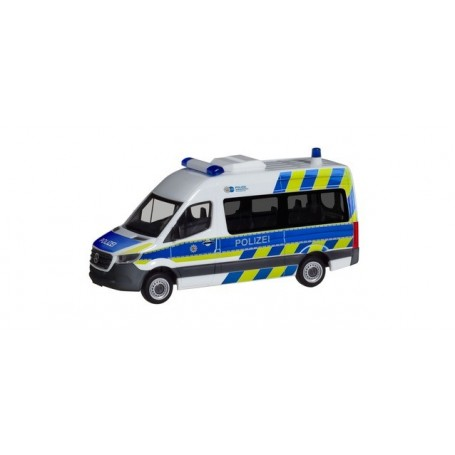 Herpa 094368 Mercedes-Benz Sprinter bus high Roof 'Police ...