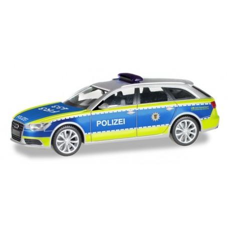 Herpa 094405 Audi A6 ® Avant 'Police Department Baden-Württemberg'