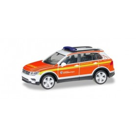 Herpa 094443 VW Tiguan command vehicle 'Voluntary fire brigade Norderstedt'